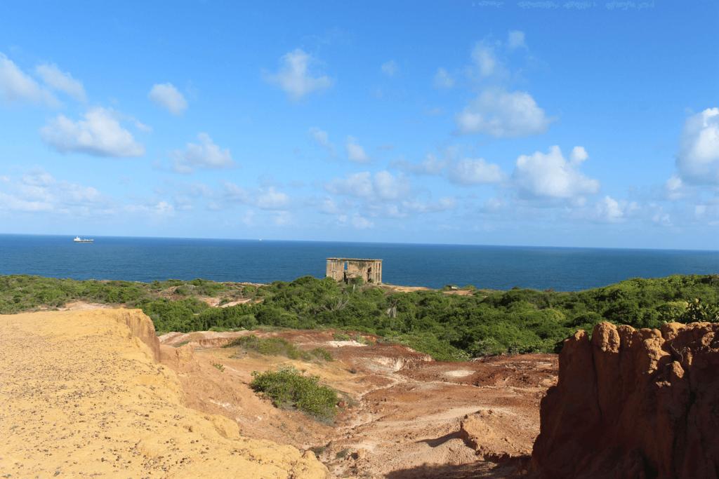 Casa do Faroleiro, no Cabo de Santo Agostinho