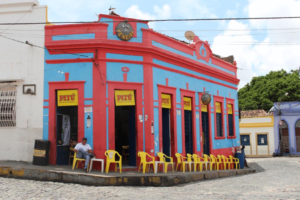 Casa colorida em Olinda
