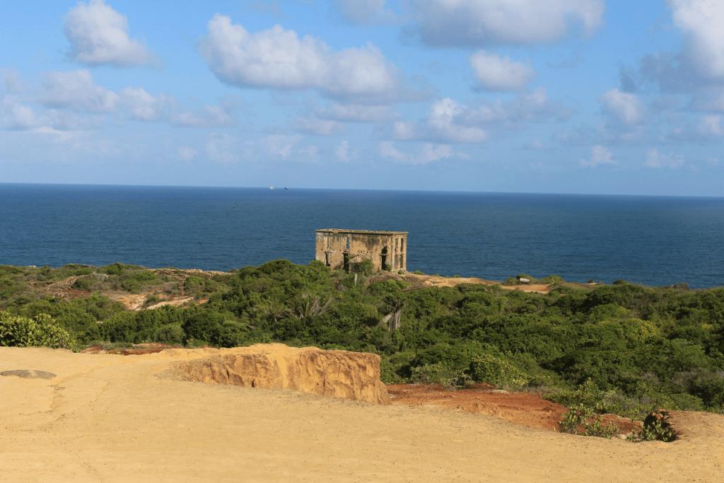 Casa do Faroleiro no Cabo de Santo Agostinho