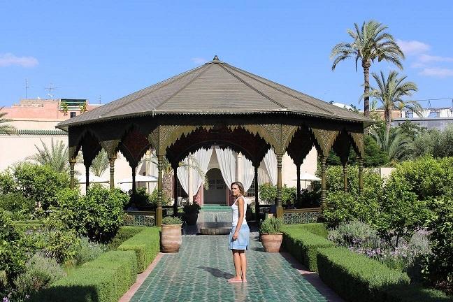 Jardim secreto, Marrakesh