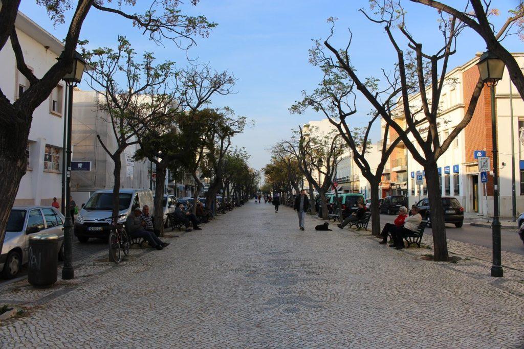 Avenida da República viagem olhão