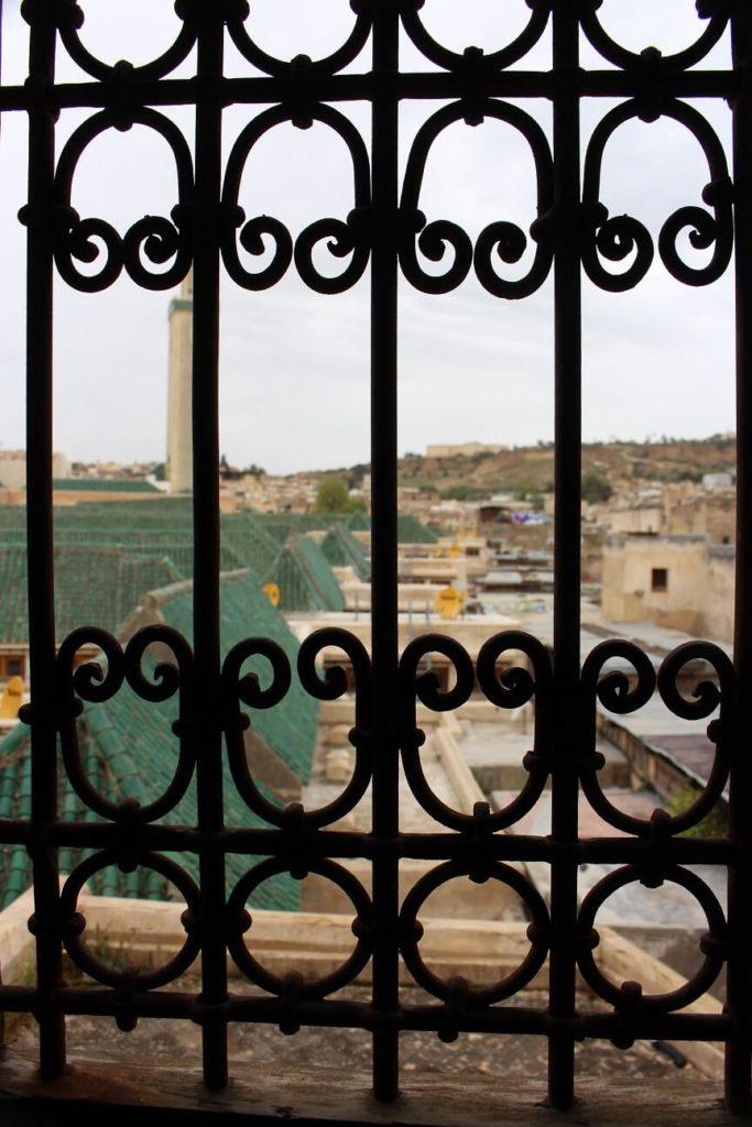 Telhados verdes da medina