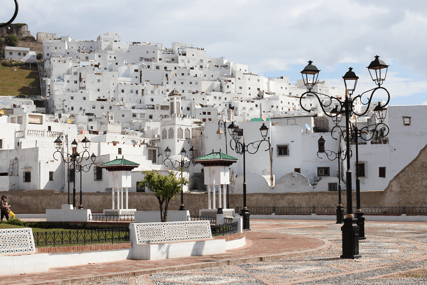 15 fotos da medina branca (andaluza) de Tétouan