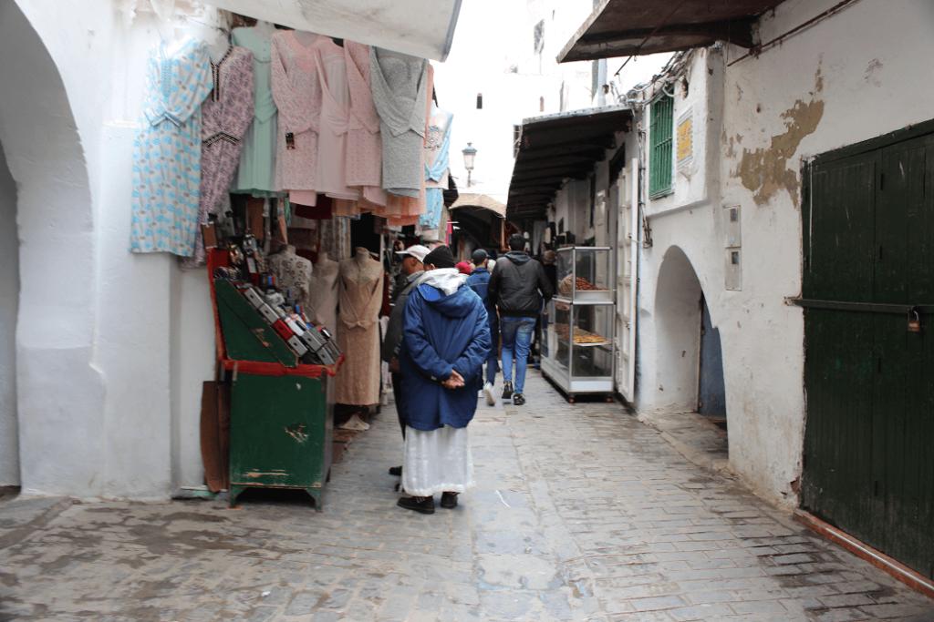Uma rua na Medina de Tétouan