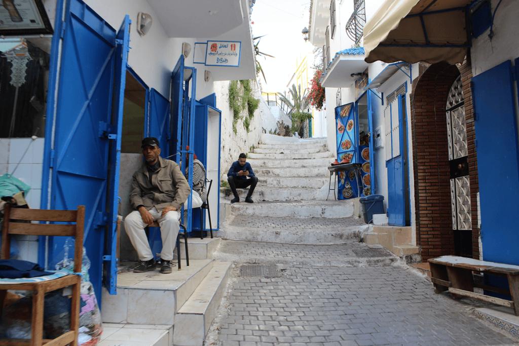 Dois homens na Medina de Tétouan