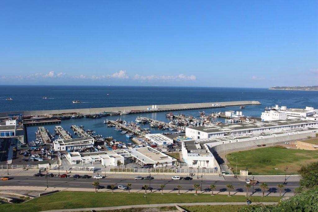 Porto de Tânger viagem