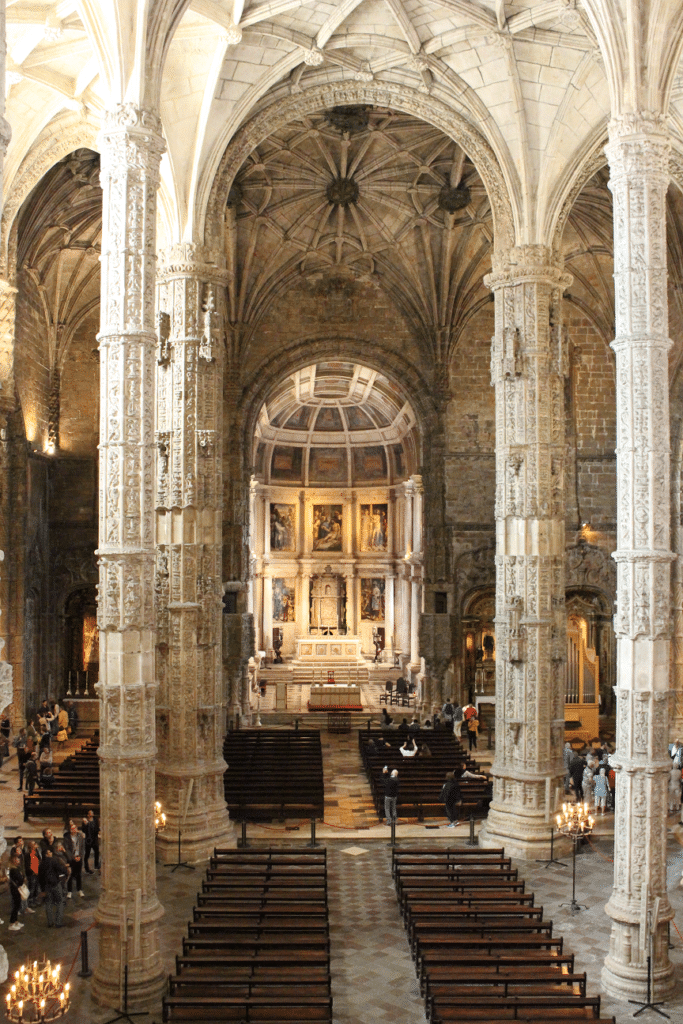 Interior do Mosteiro dos Jerónimos