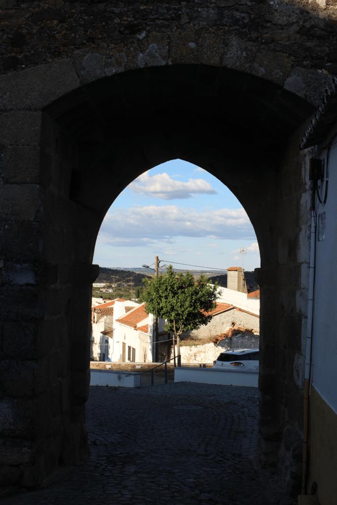 Vista a partir da Porta da Ravessa viagem ao Redondo