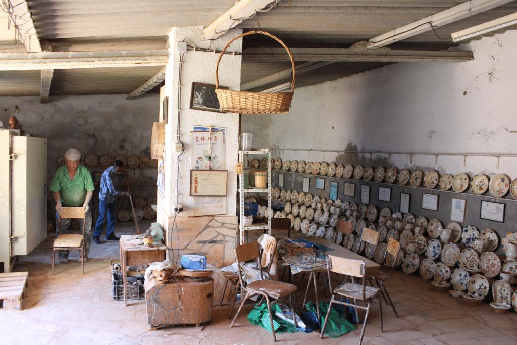 Antiga olaria dentro do Castelo viagem ao Redondo