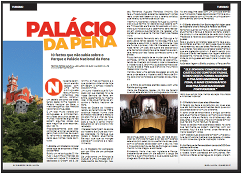 Na Revista Viva Sintra