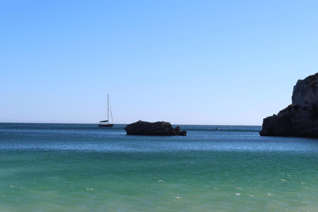 10 fotos da praia do Ribeiro do Cavalo (Sesimbra)