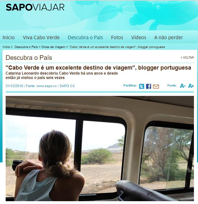 No Sapo Viajar Cabo Verde