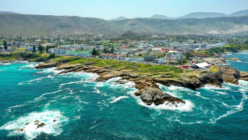 Hermanus, na Rota das Baleias da África do Sul
