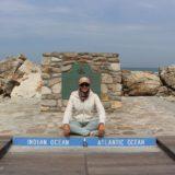 Cabo Agulhas, o ponto mais a sul de África