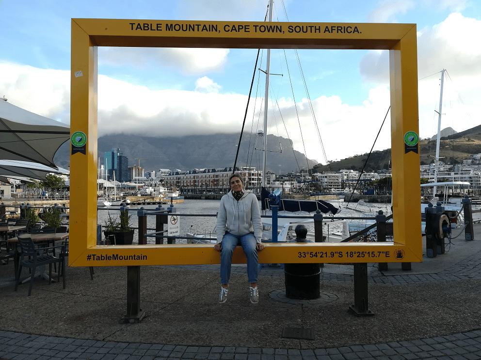 kate em Cape Town
