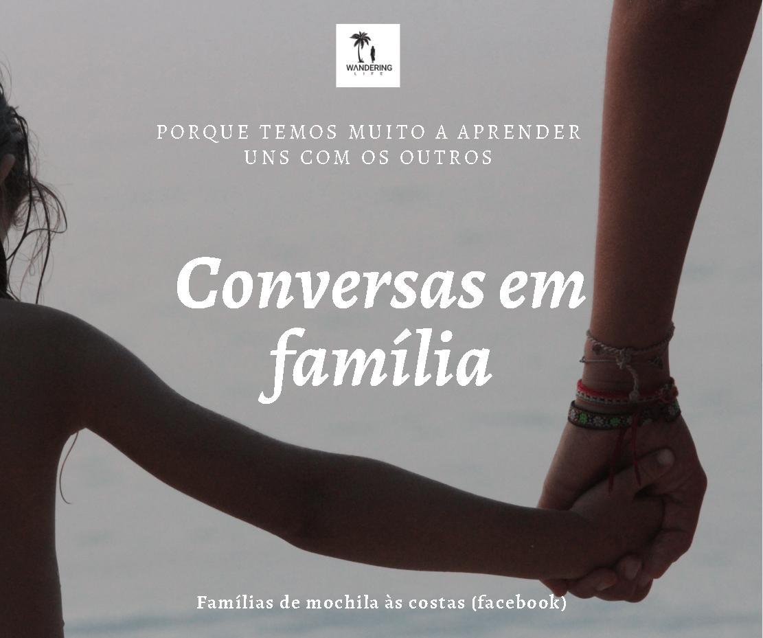 Rubrica: Conversas em família
