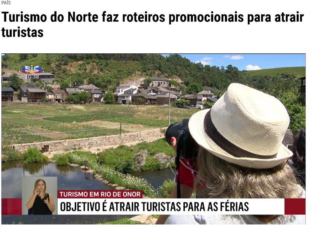 Catarina Leonardo nas notícias da SIC Media