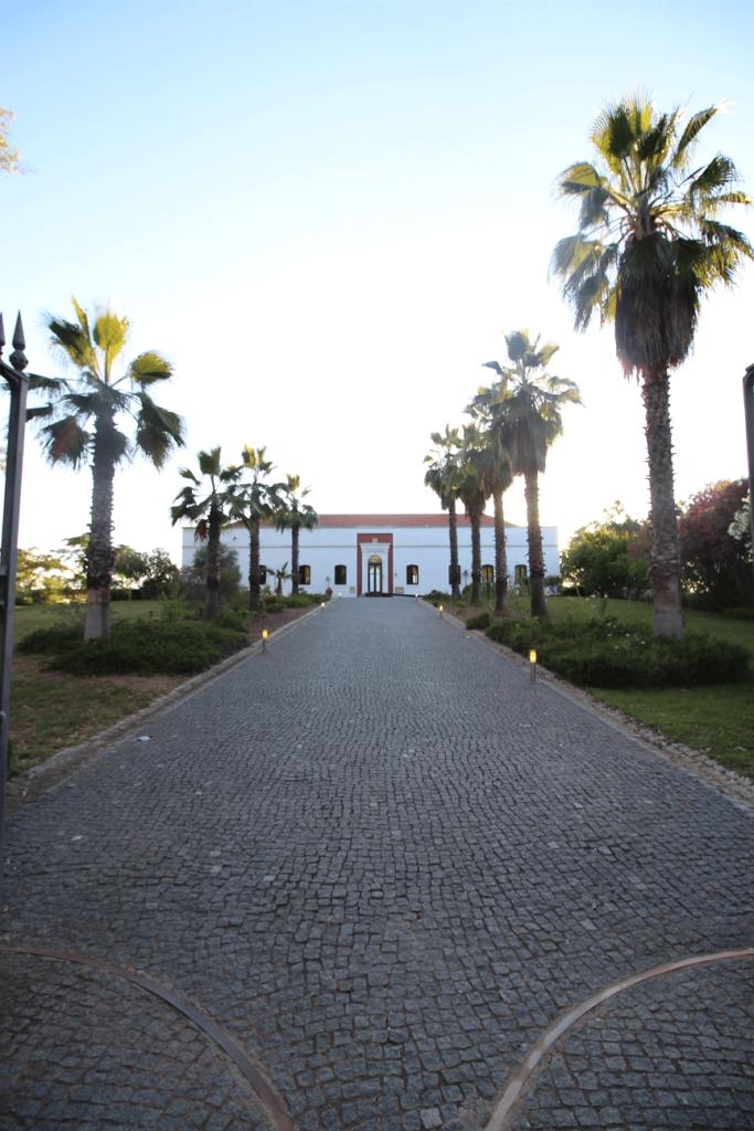 Hotel (antigo palácio) na Mina de São Domingos