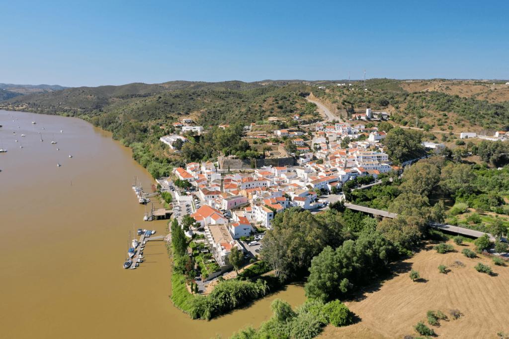 A vila de Alcoutim visitada na blog trip