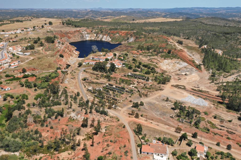 A rota do minério no Guadiana