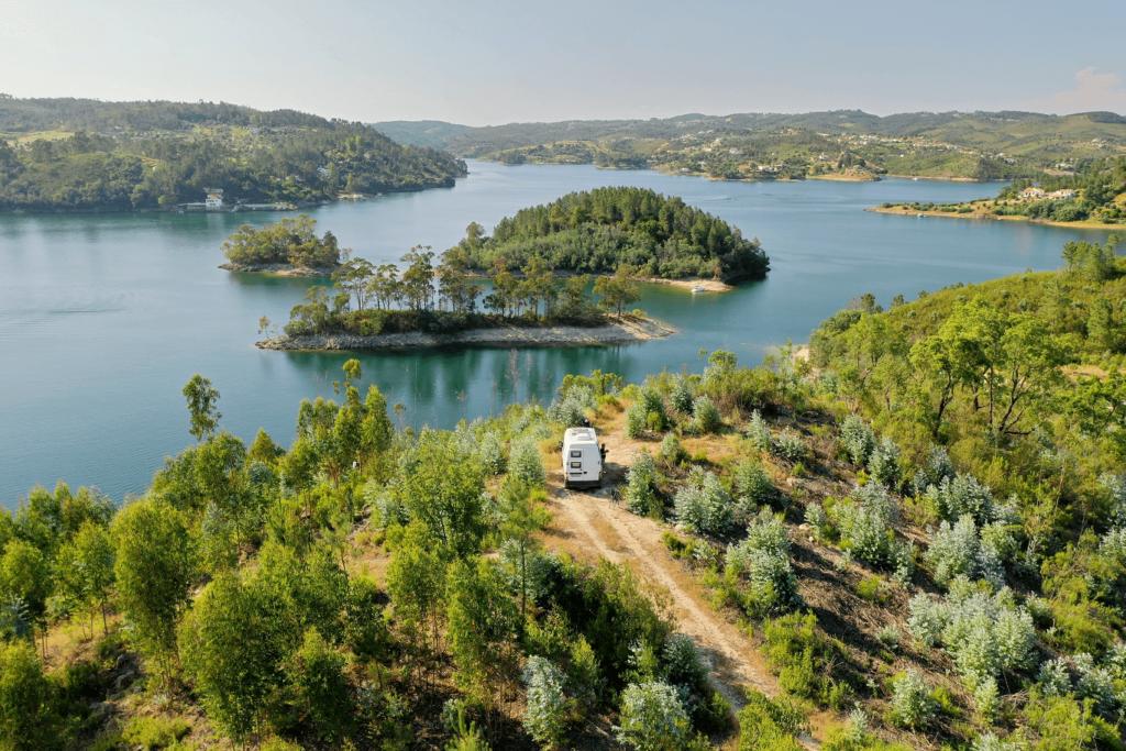 Autocaravana em Portugal como elucidativo do media kit